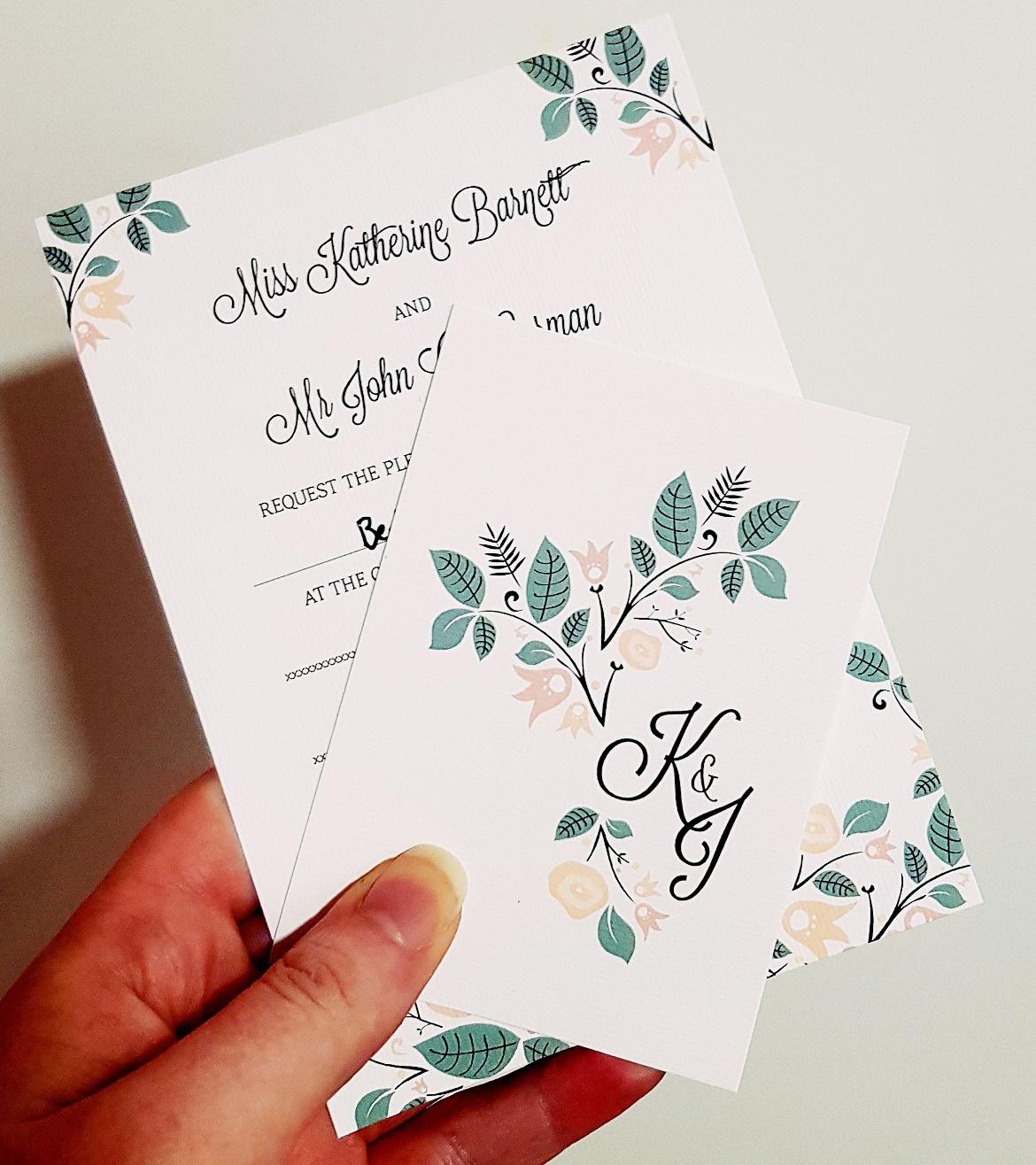 Wedding invite - January 2018 Monthly Recap by BeckyBecky Blogs