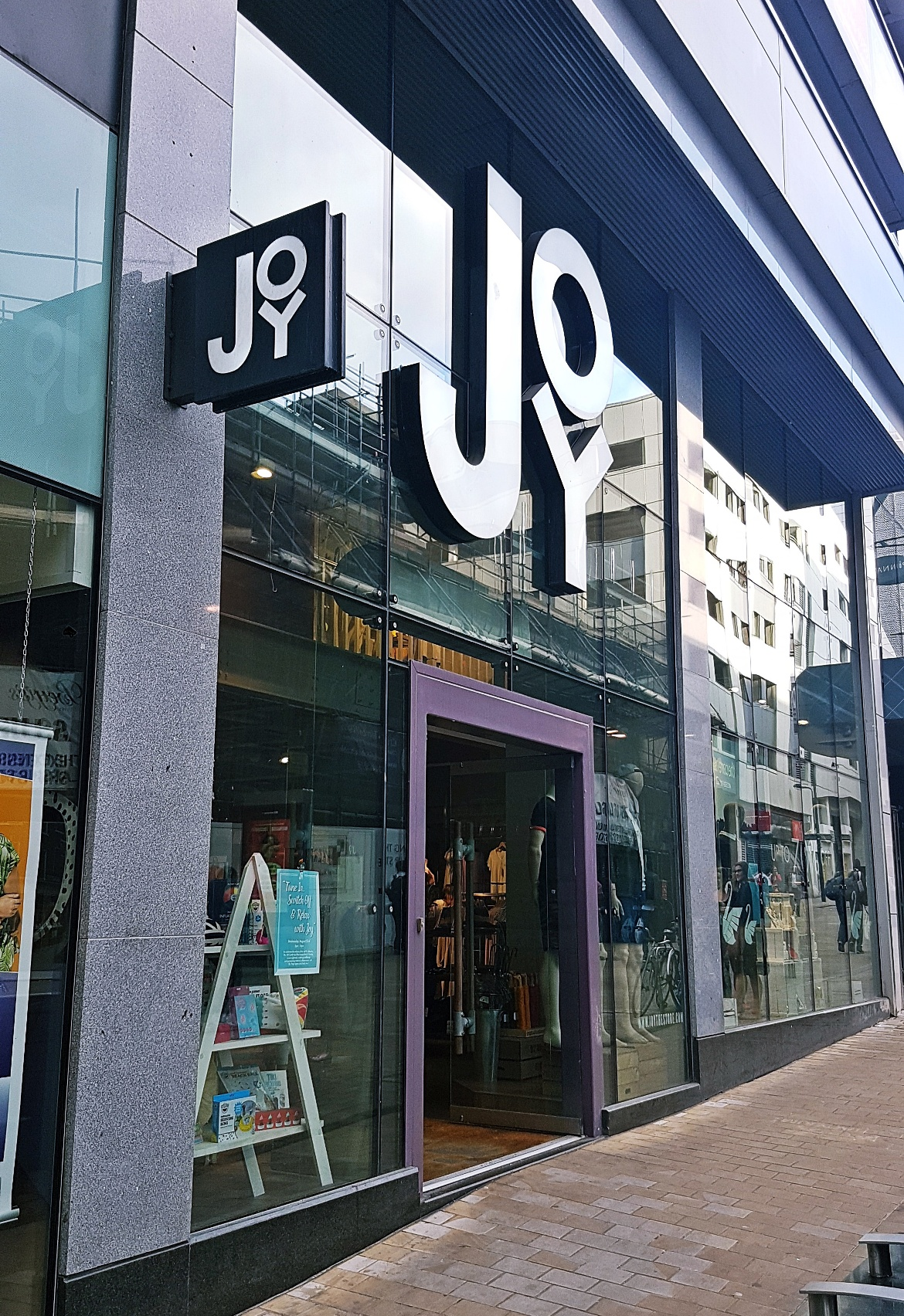 Exterior on Albion Street - Tune in with Joy the Store, Leeds shop review by BeckyBecky Blogs