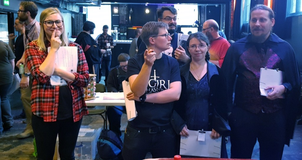 The votes against my Queen - Kingdom of Seasons megagame report by BeckyBecky Blogs