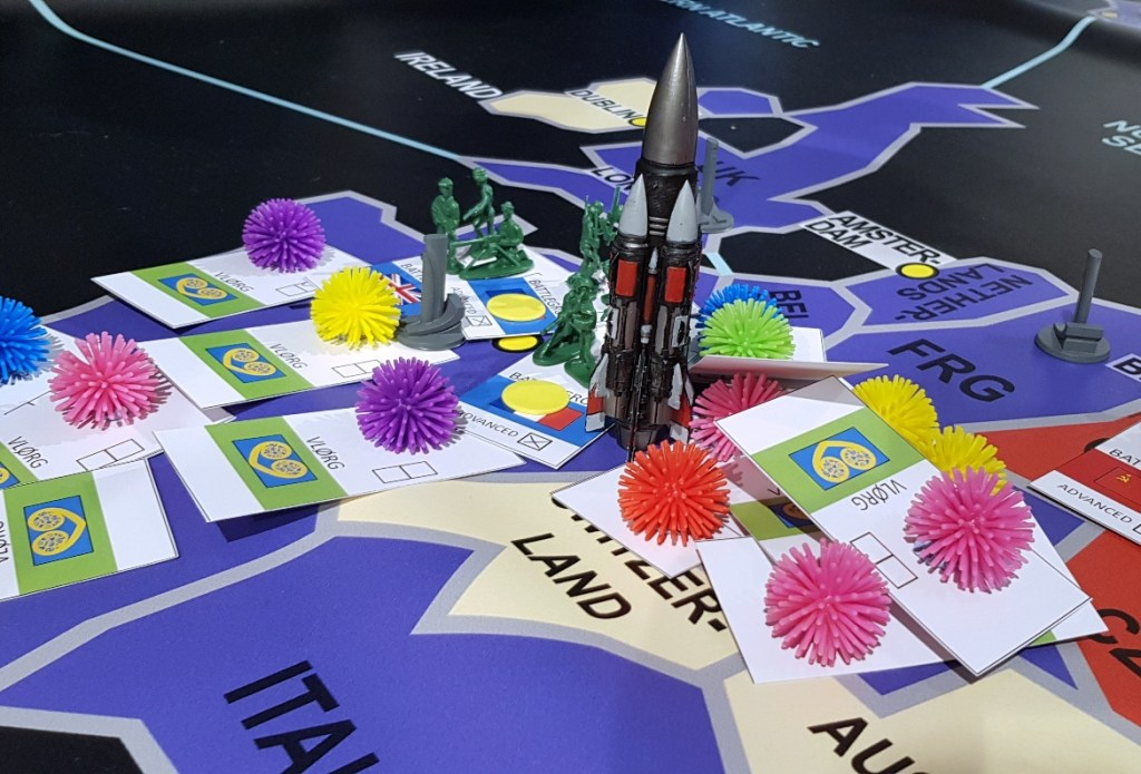 Capital Ship in West Germany - Lights in the Sky Megagame Report by BeckyBecky Blogs