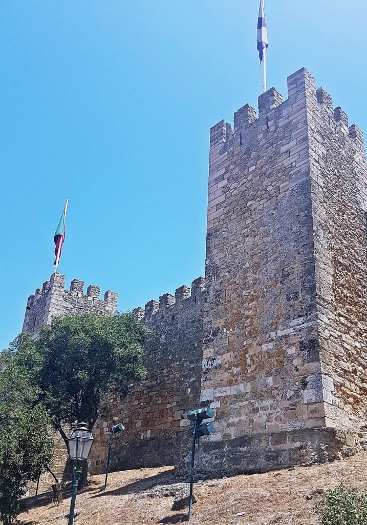 Castelo de Sao Jorge - Things to Do in Lisbon, Portgual, travel blog by BeckyBecky Blogs