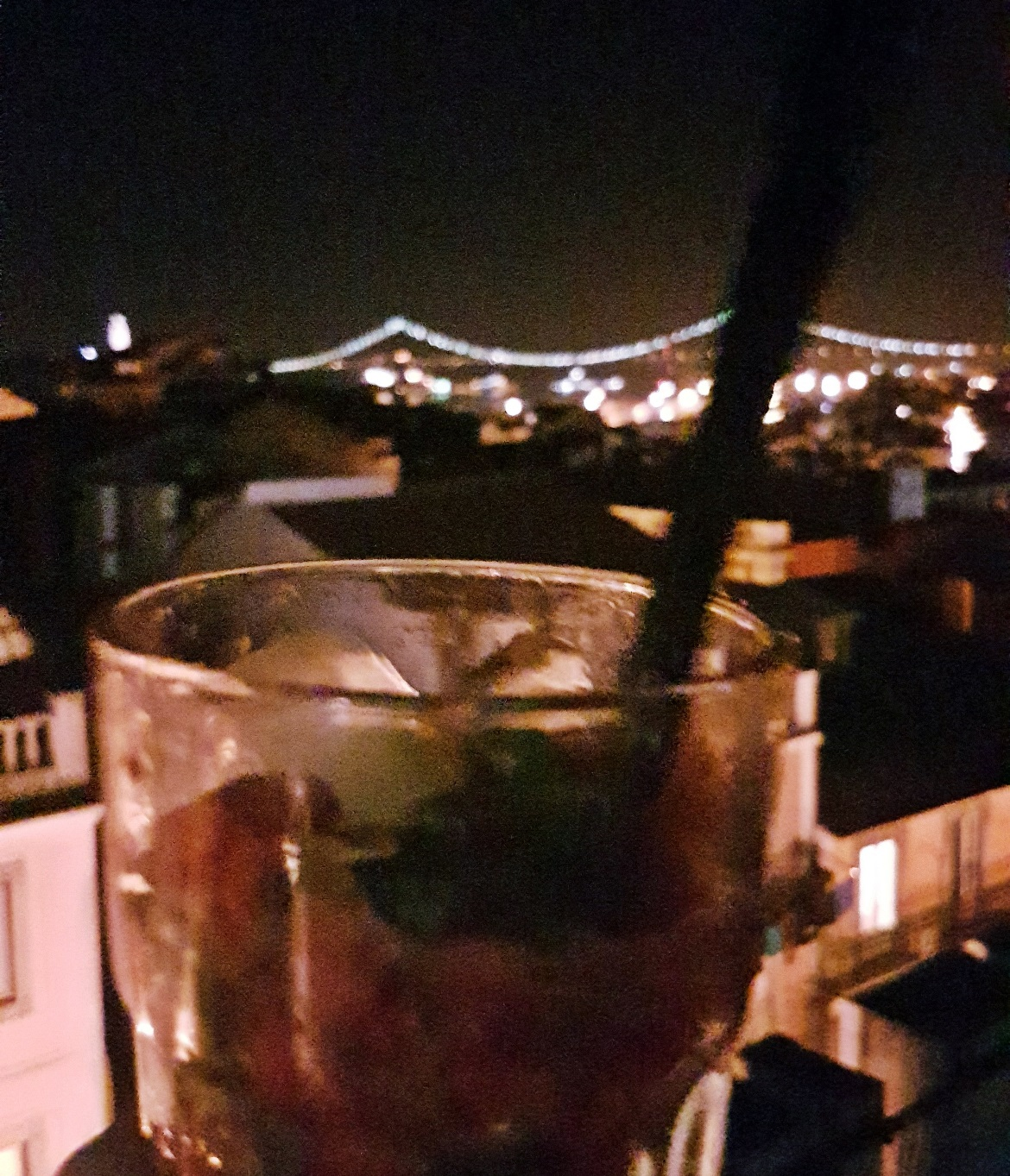 Drink with a view at Park Bar - Food and Drink in Lisbon, review by BeckyBecky Blogs