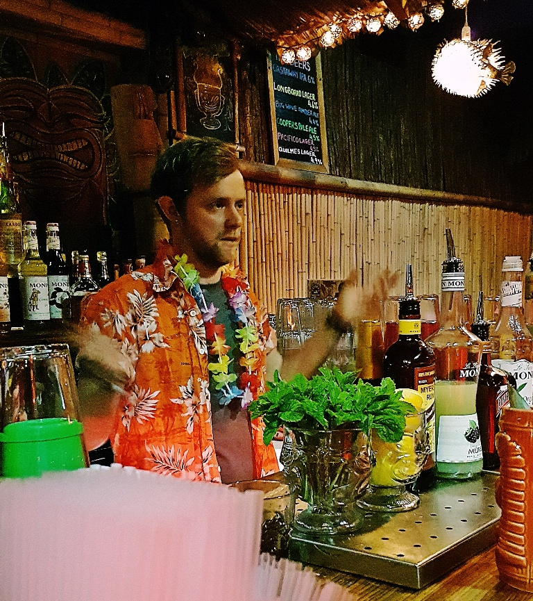 Cocktail masterclass - Review by BeckyBecky Blogs of Mahiki Tiki Takecover at Tiki Hideaway with Leeds Loves Cocktails