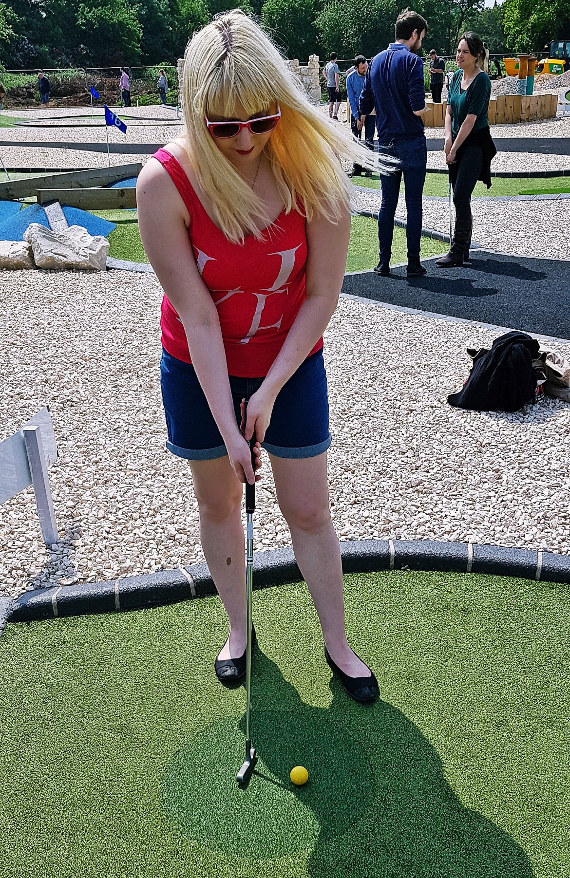 Mini golf in Nottingham - May 2018 Monthly Recap by BeckyBecky Blogs