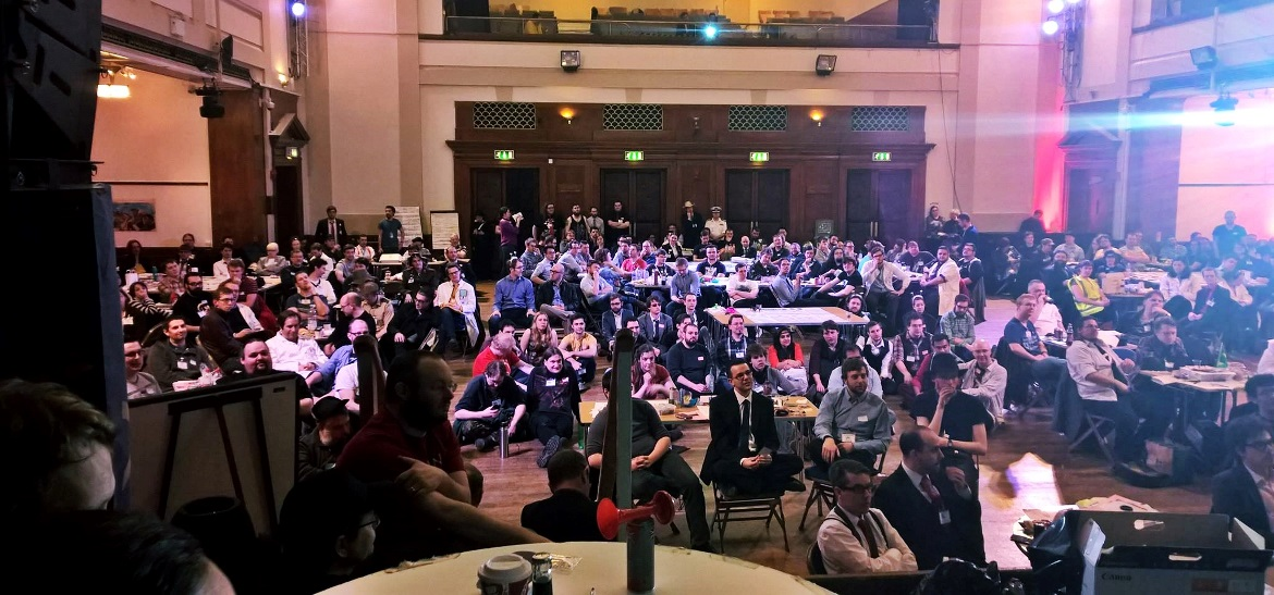 300+ players at Watch The Skies 2 - Game of Alchemy, and the difference between LARP and Megagames by BeckyBecky Blogs