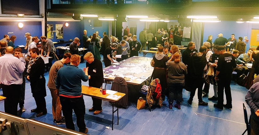 How To Not Panic Before Your Megagame