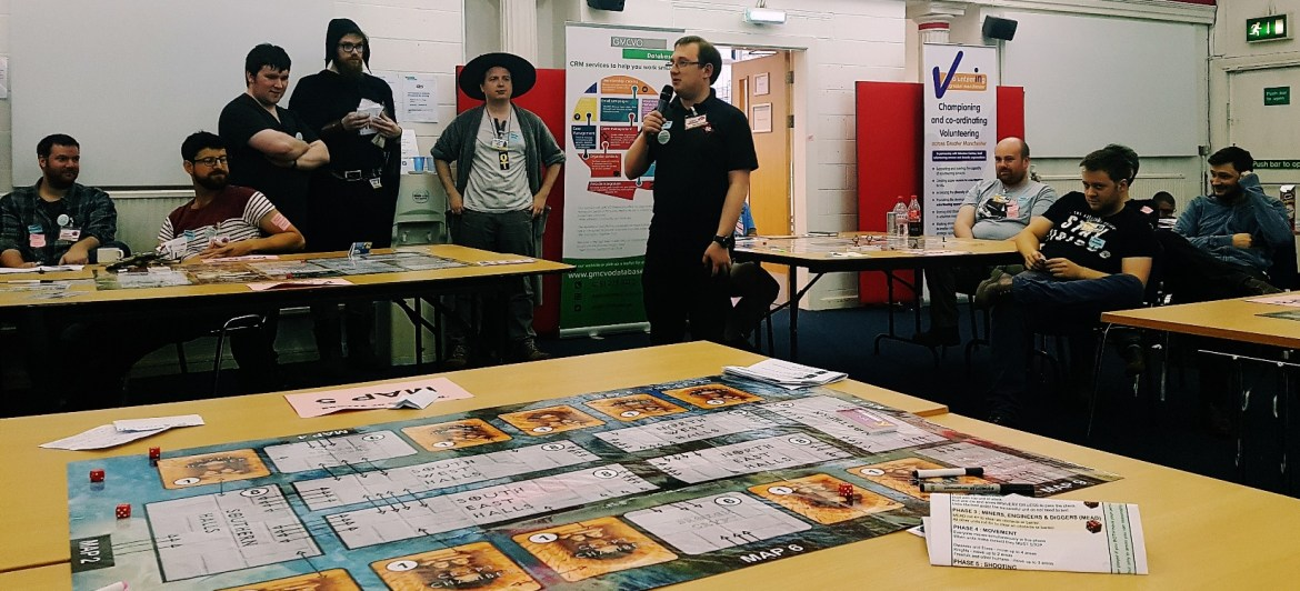 Debrief at the Dungeons of Yendor Megagame