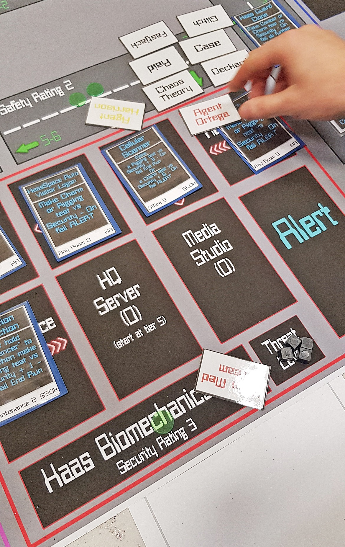 Run on Haas - Mirrorshades megagame after action report by BeckyBecky Blogs