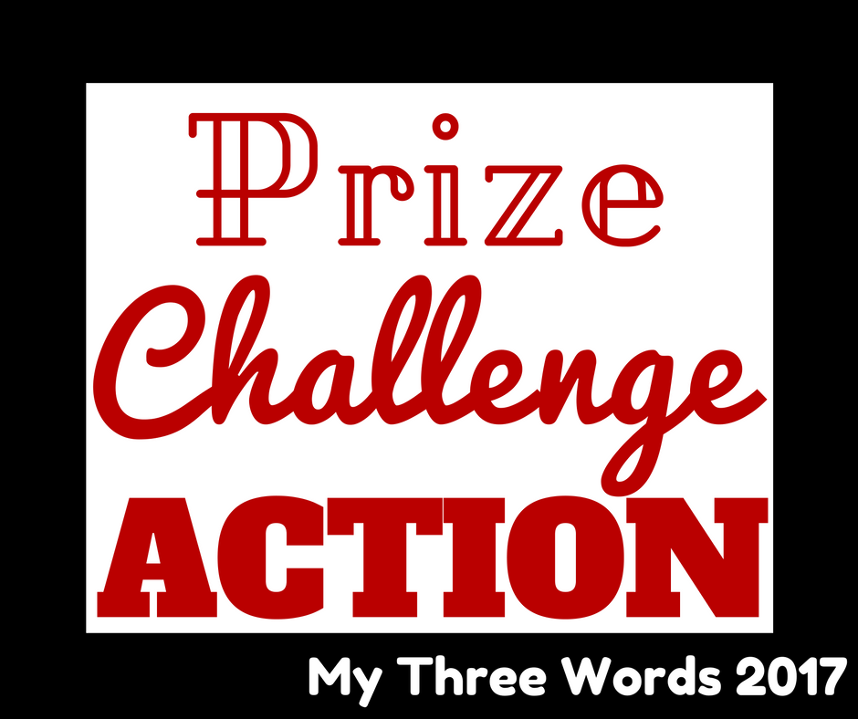 My Three Words 2017 from BeckyBecky Blogs