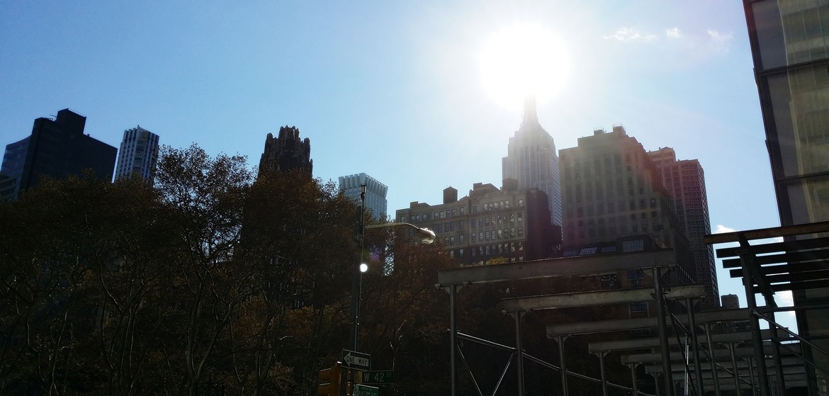 New York in the sunshine - New York New York, travel blog by BeckyBecky Blogs