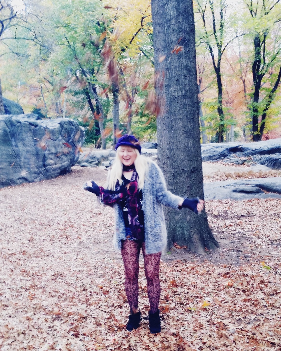 Autumn in Central Park - New York New York, travel blog by BeckyBecky Blogs
