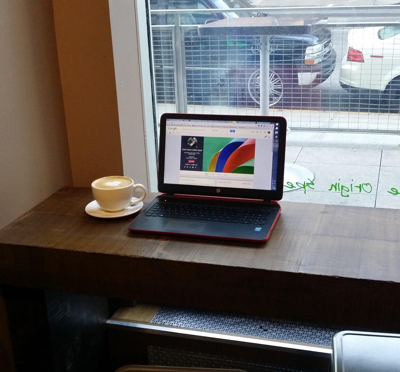 Green Nature Coffee Shop - New York New York, travel blog by BeckyBecky Blogs