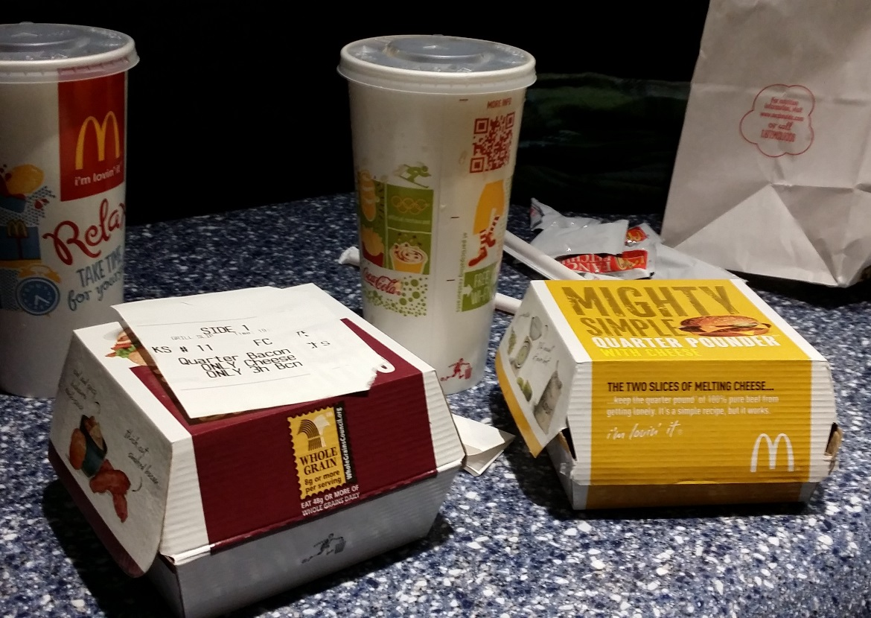McDonalds - New York New York, travel blog by BeckyBecky Blogs