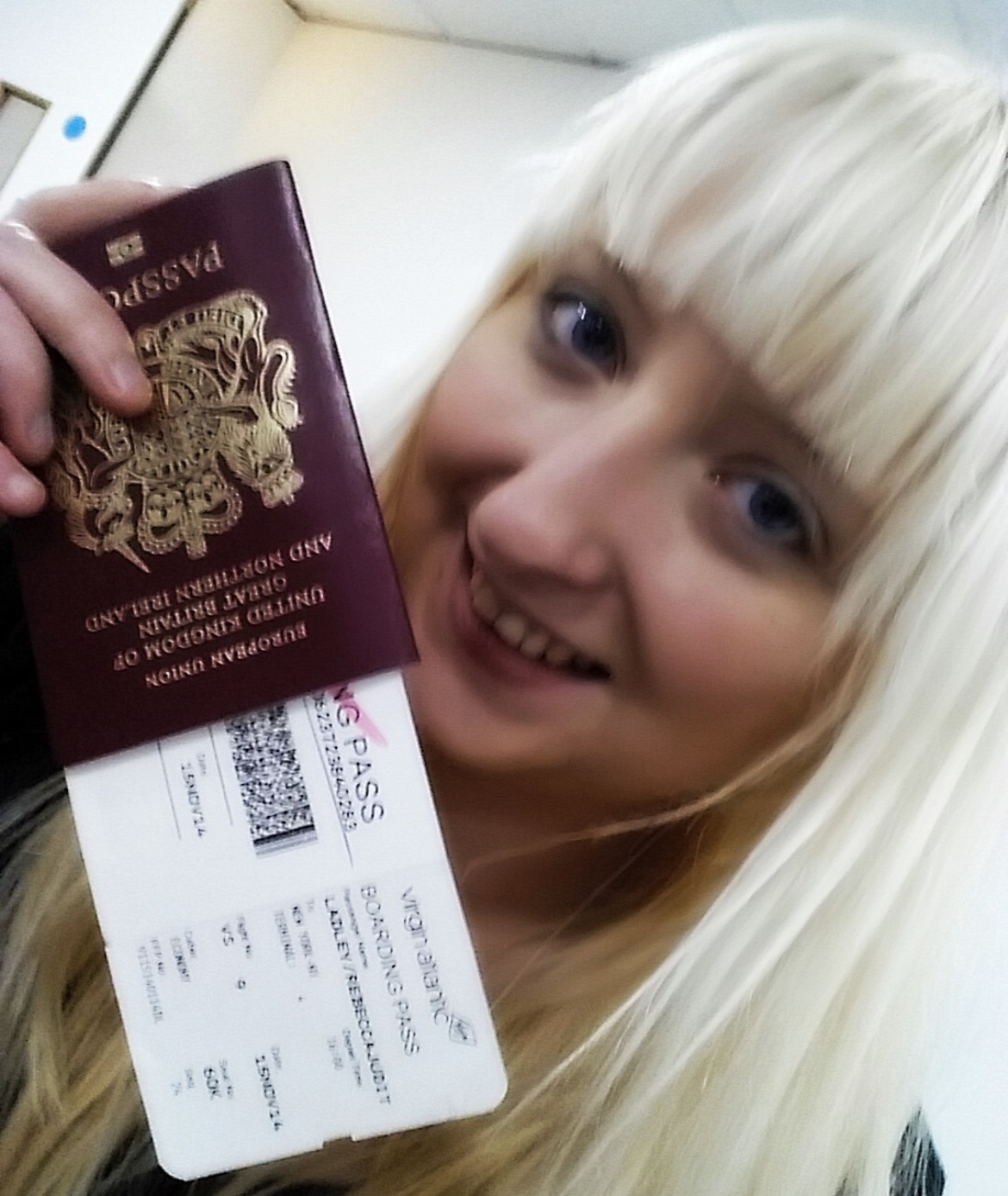 My ticket to New York City - New York New York, travel blog by BeckyBecky Blogs