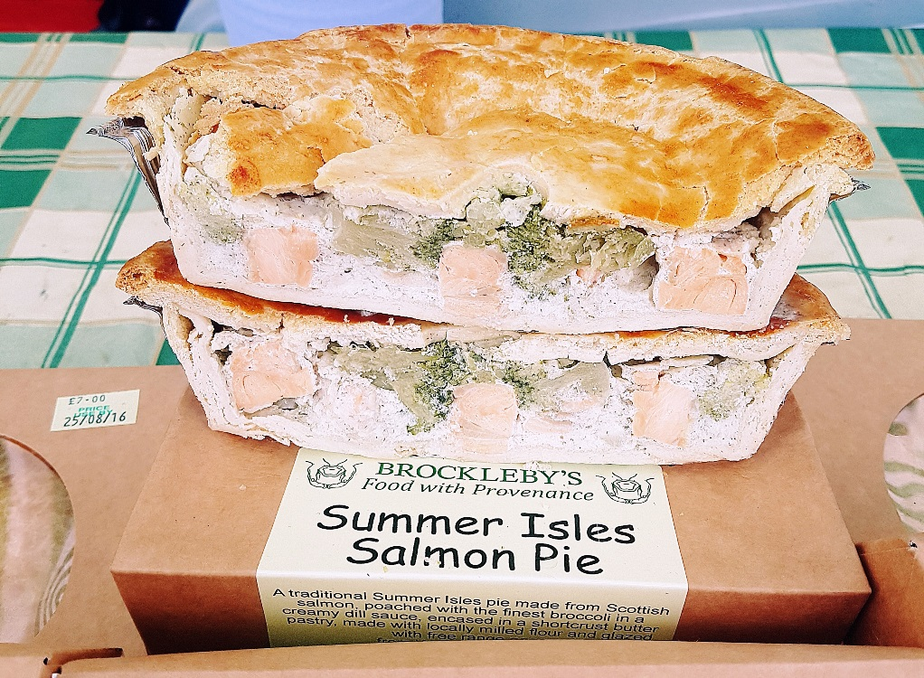 Pie at North Leeds Food Festival
