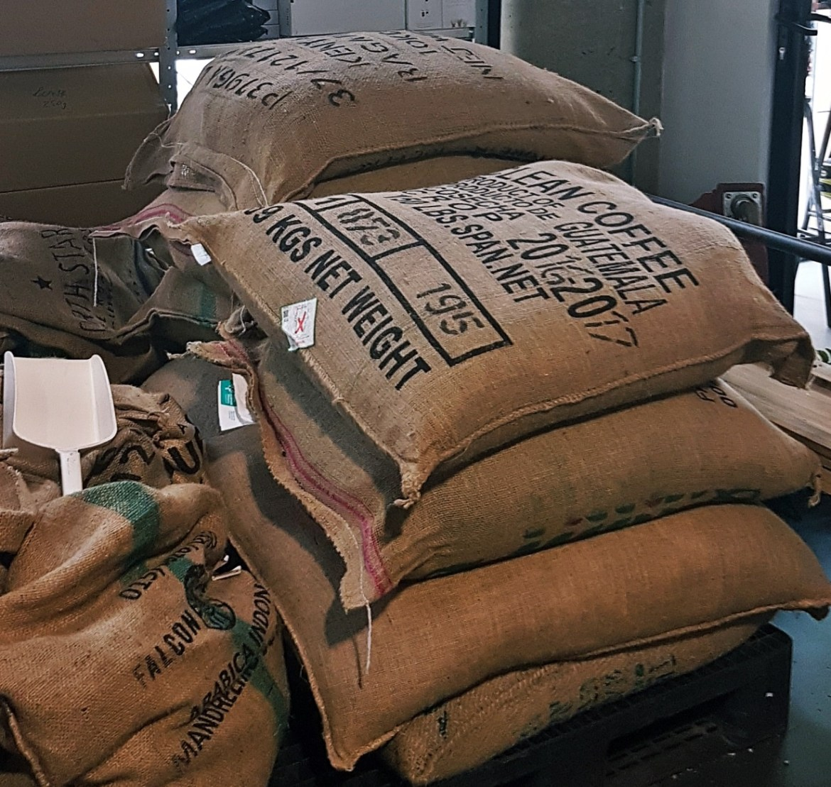 Bags of coffee beans - Review of North Star Coffee Shop by BeckyBecky Blogs