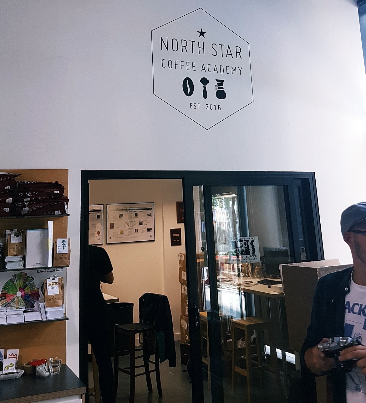 Entrance to North Star Coffee Academy - Review of North Star Coffee Shop by BeckyBecky Blogs