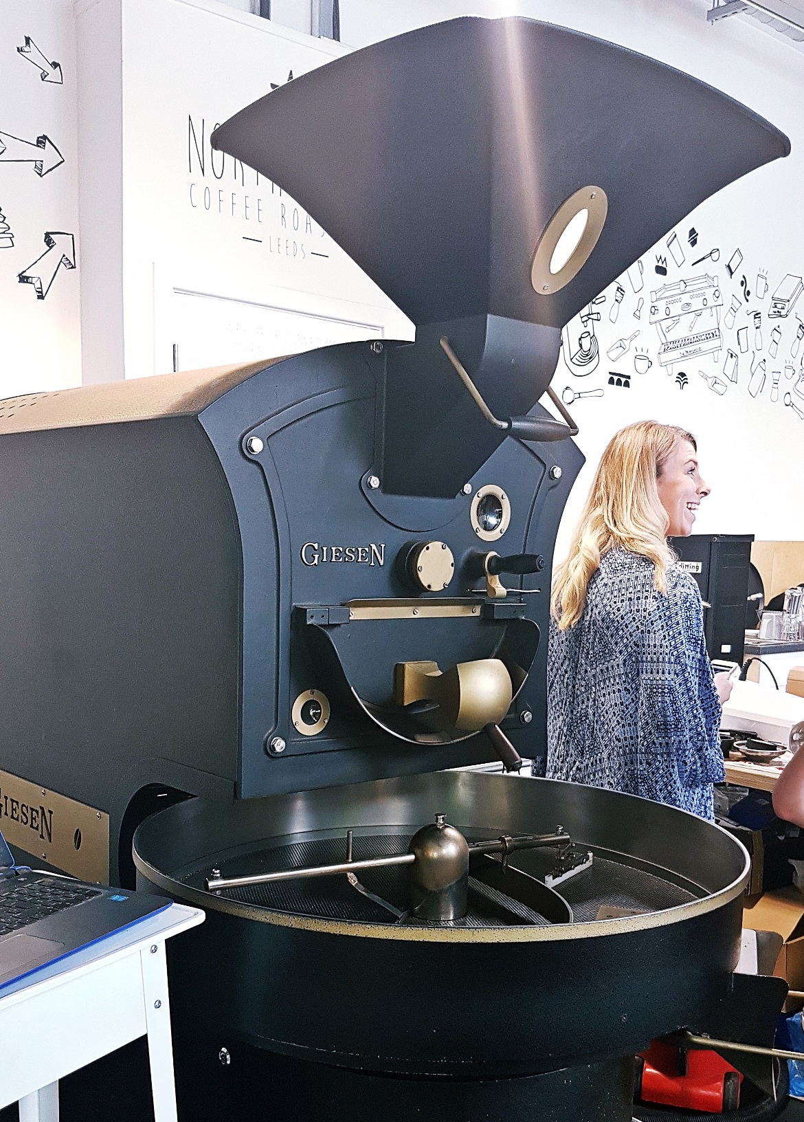 Coffee roasting equipment - Review of North Star Coffee Shop by BeckyBecky Blogs