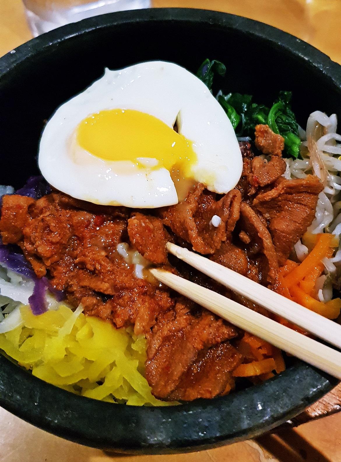 Korean Bibimbap - October Monthly Recap by BeckyBecky Blogs
