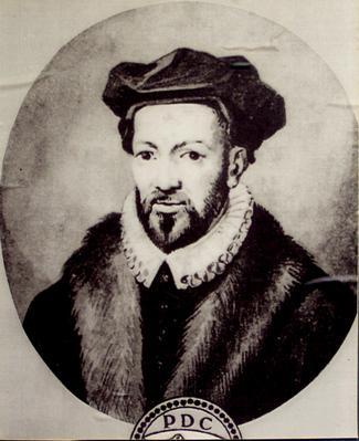 Historical portrait of Peter Dathenus