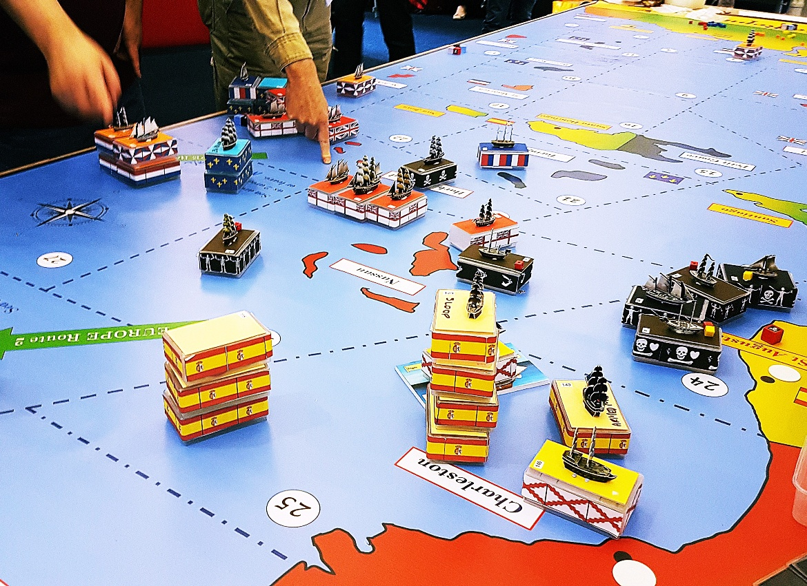 Ships sailing the seas - The Pirate Republic Megagame After Action Report by BeckyBecky Blogs