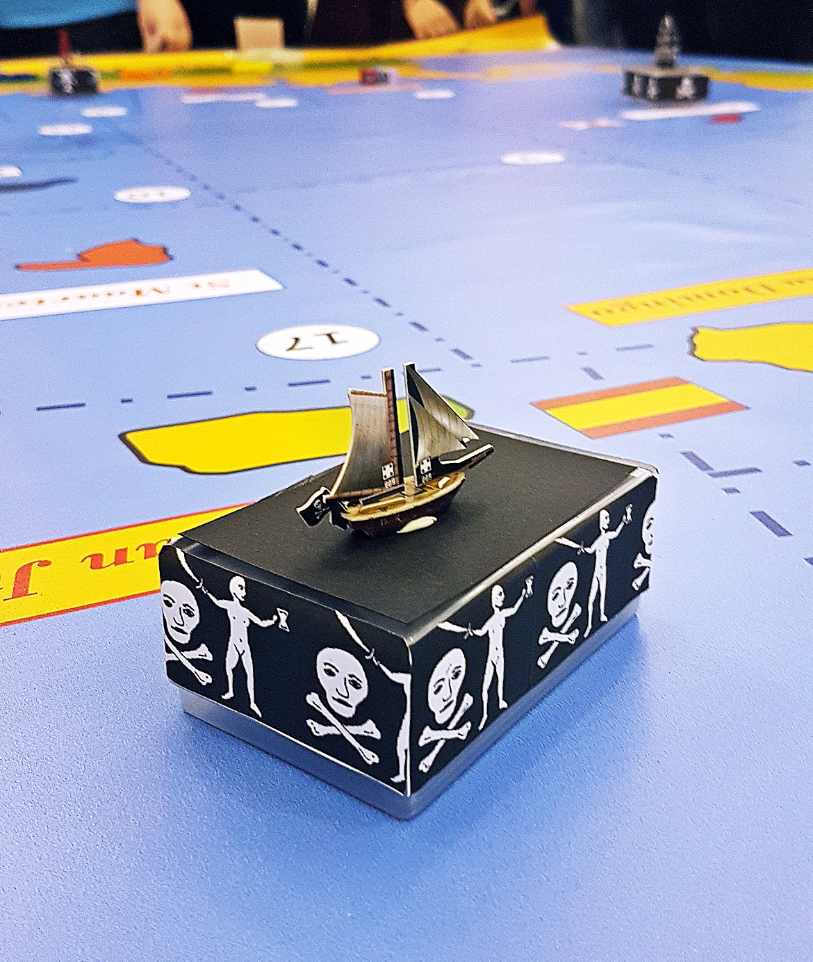 Stopping by San Juan - The Pirate Republic Megagame After Action Report by BeckyBecky Blogs