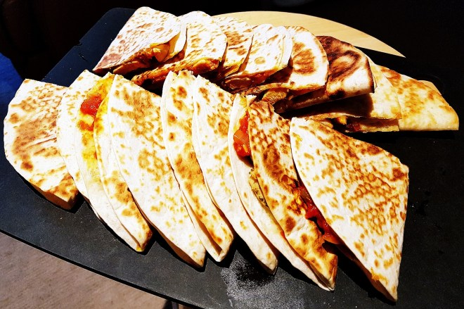 Quesadillas for a dinner party