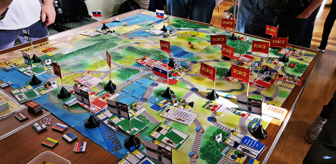 The Russian Map - Red Dawn Megagame After Action Report by BeckyBecky Blogs