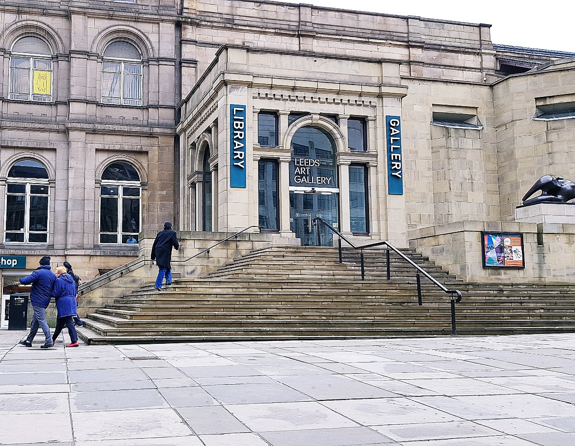 Leeds Art Gallery for my meeting with Capital Experience - The Lucky Ones, immersive theatre experience by Riptide Leeds, review by BeckyBecky Blogs