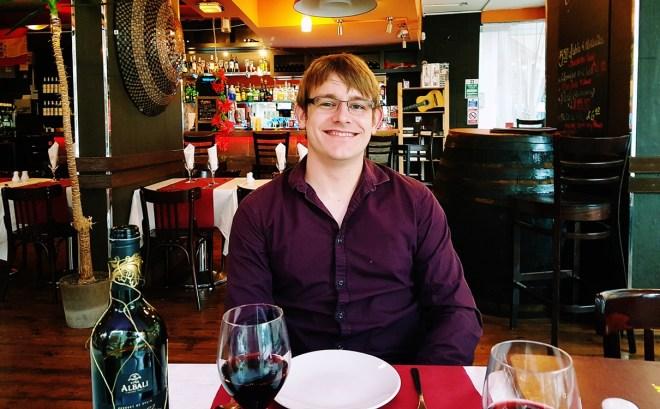 Interior of restaurant with TC - Rocio Restaurant Review