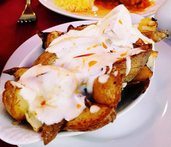 Patatas bravas - Rocio Restaurant Review