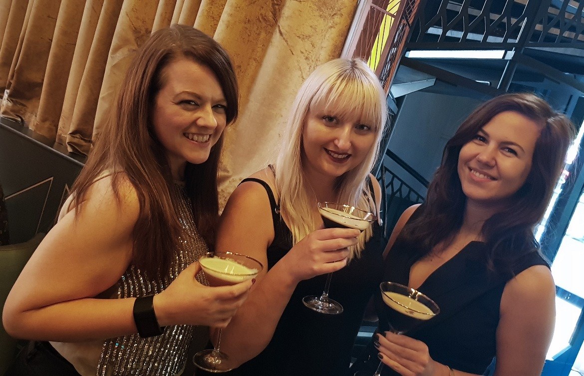 Marketing girls at Dirty Martini - September 2018 Monthly Recap by BeckyBecky Blogs