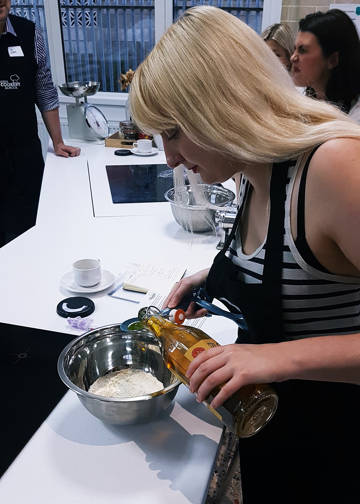 Making pasta dough at Leeds Cookery School - September Monthly Recap by BeckyBecky Blogs