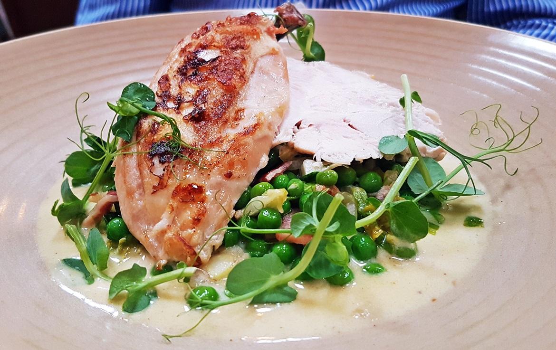 Chicken breast - Restaurant Review of Shears Yard, Leeds Restaurant Week menu by BeckyBecky Blogs