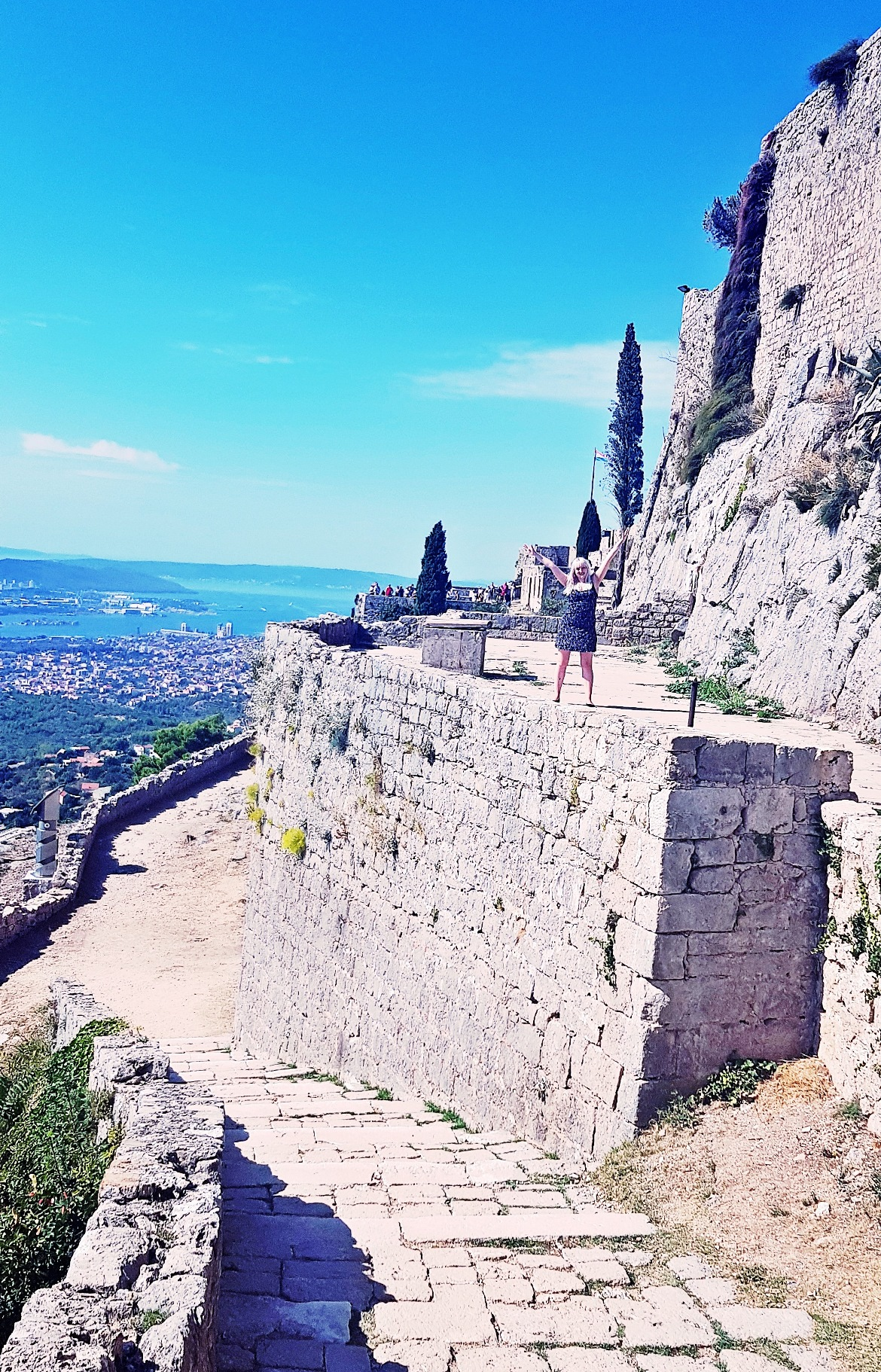 Game of Thrones filming location at Klis Fortress - Croatia in Photographs by BeckyBecky Blogs