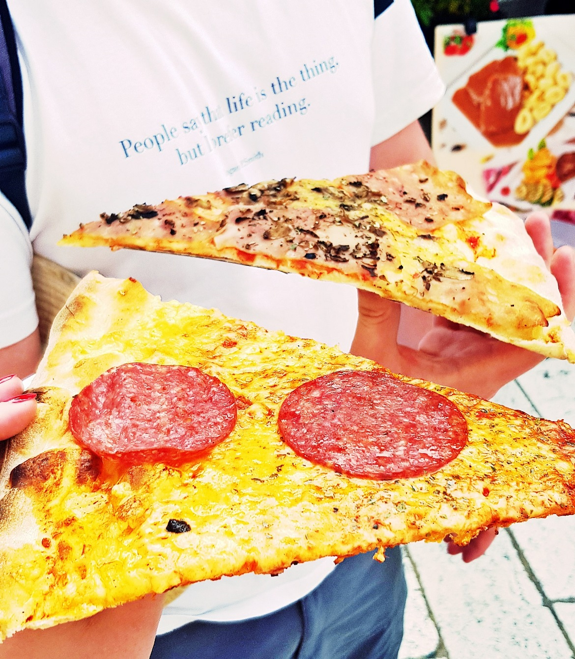 Pizza in Split - Croatia in Photographs by BeckyBecky Blogs
