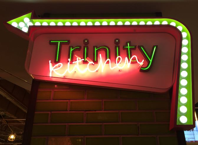 Trinity Kitchen Sign