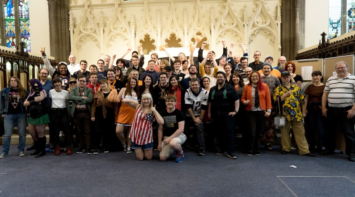 Trope High Megagame in Photos by BeckyBecky Blogs