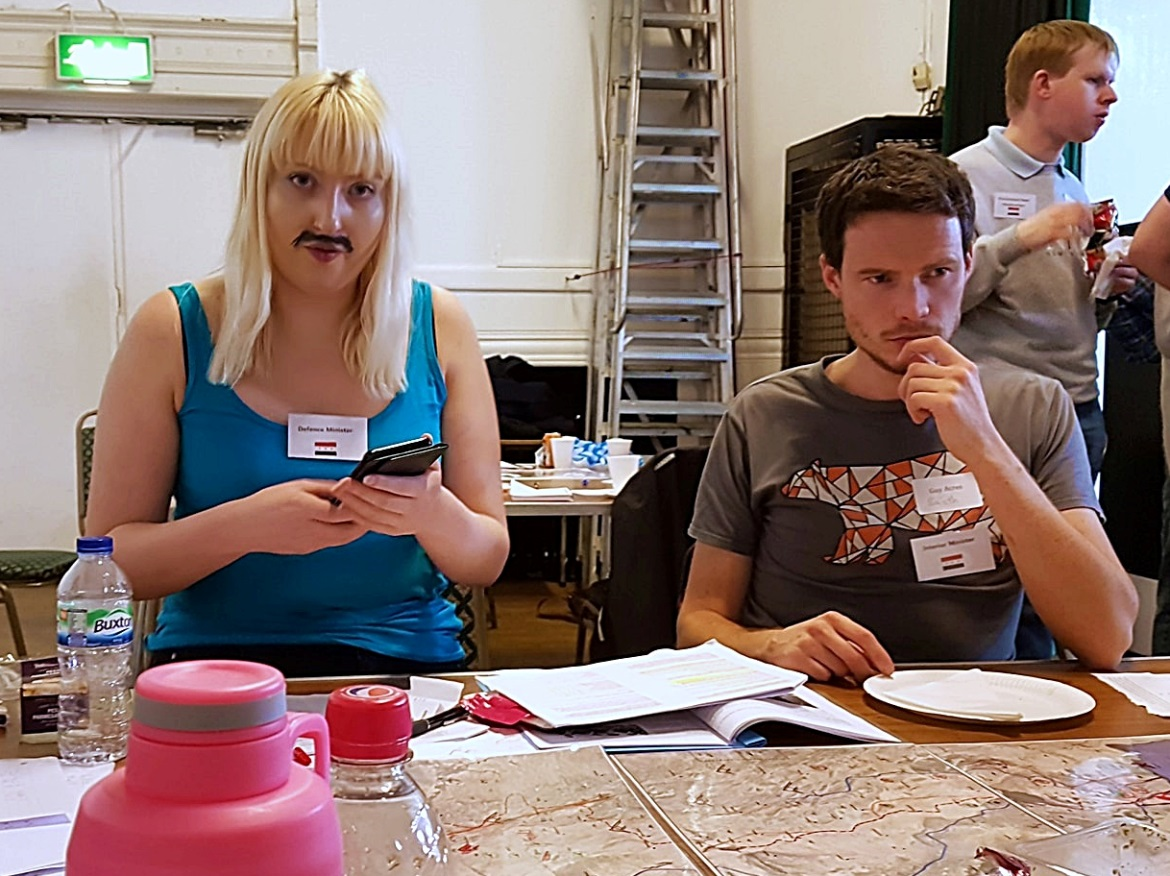 Uh oh - Undeniable Victory Megagame After Action Report by BeckyBecky Blogs