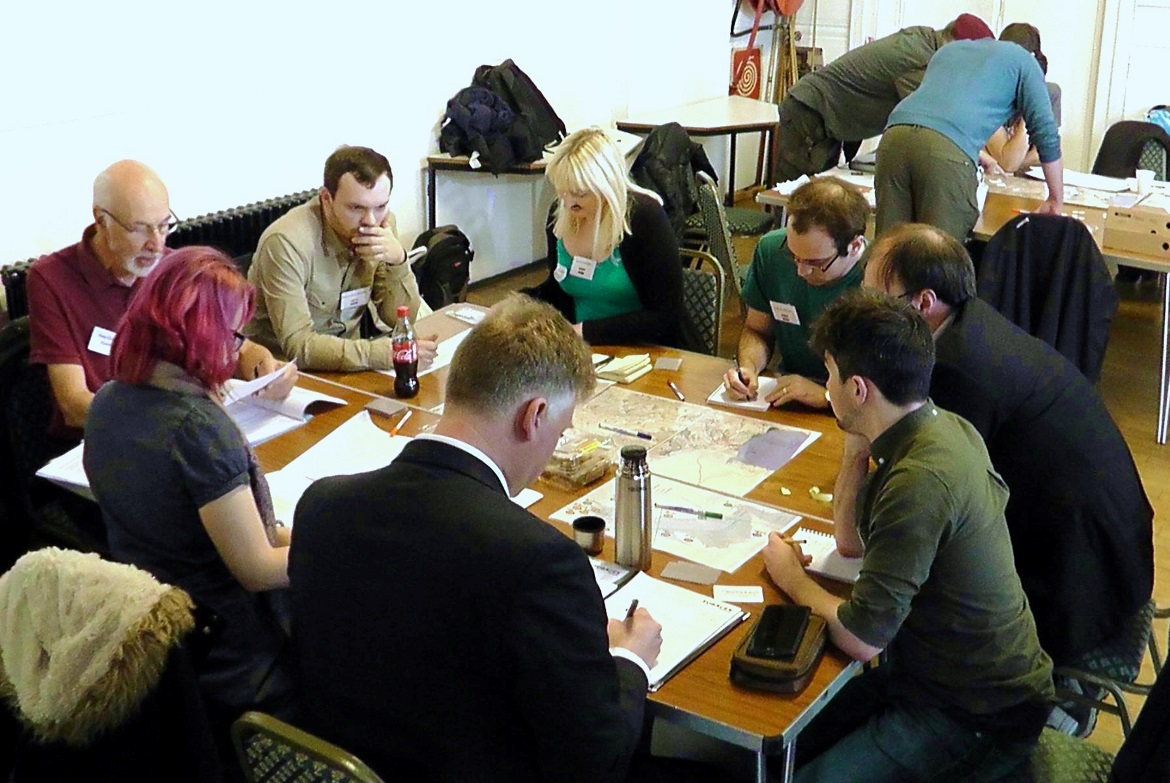 Council and HQ - Undeniable Victory Megagame After Action Report by BeckyBecky Blogs