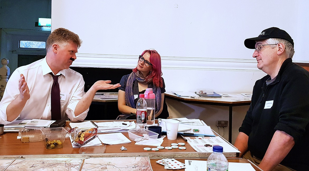 Undeniable Victory Megagame After Action Report by BeckyBecky Blogs