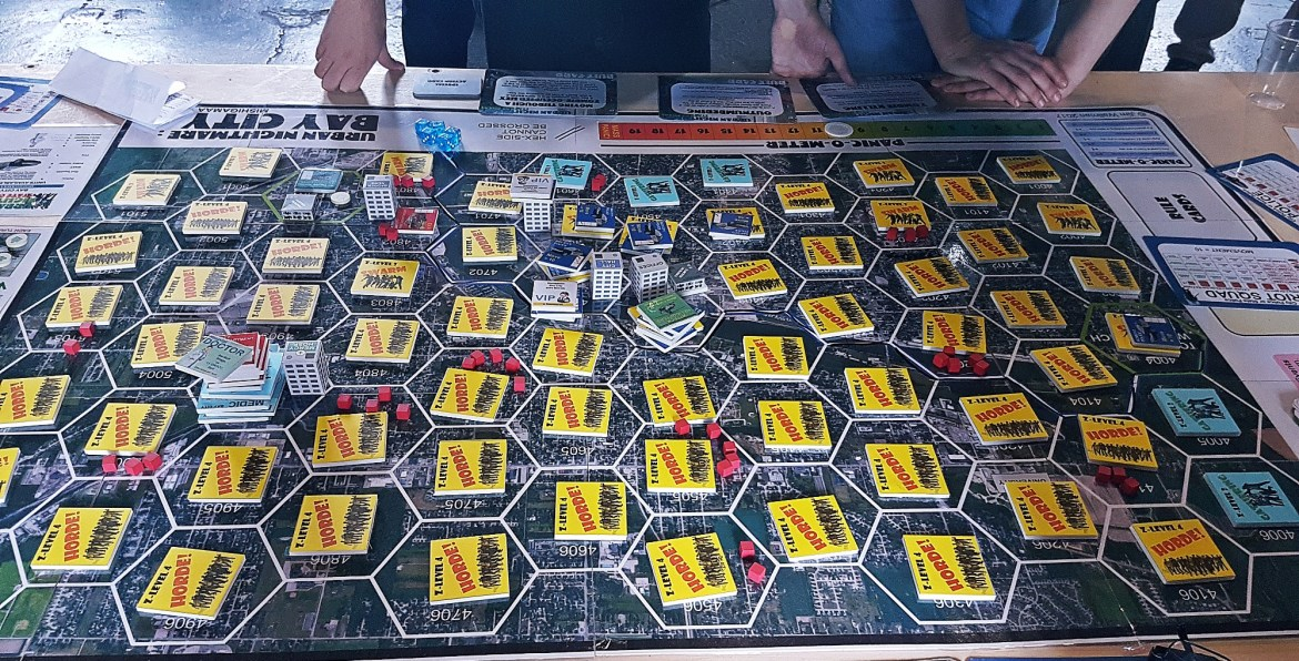 Urban Nightmare: State of Chaos - Megagame Puns by BeckyBecky Blogs