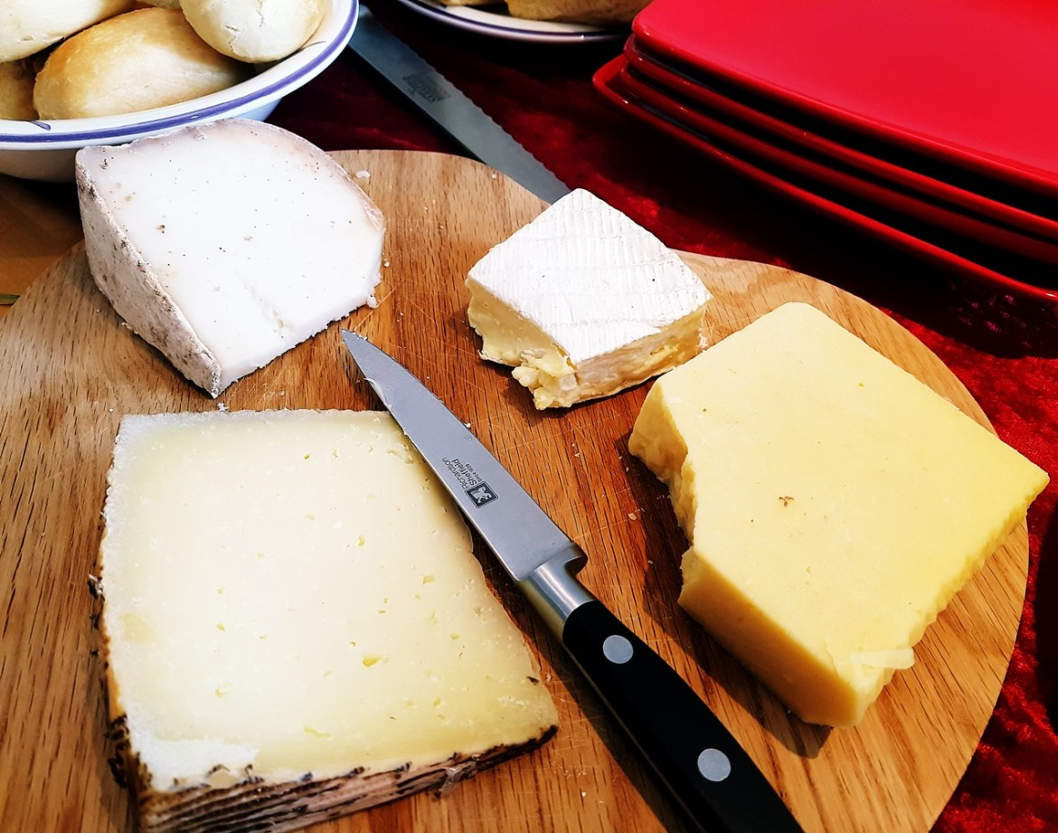 Cheese board at our House Wimbledoning
