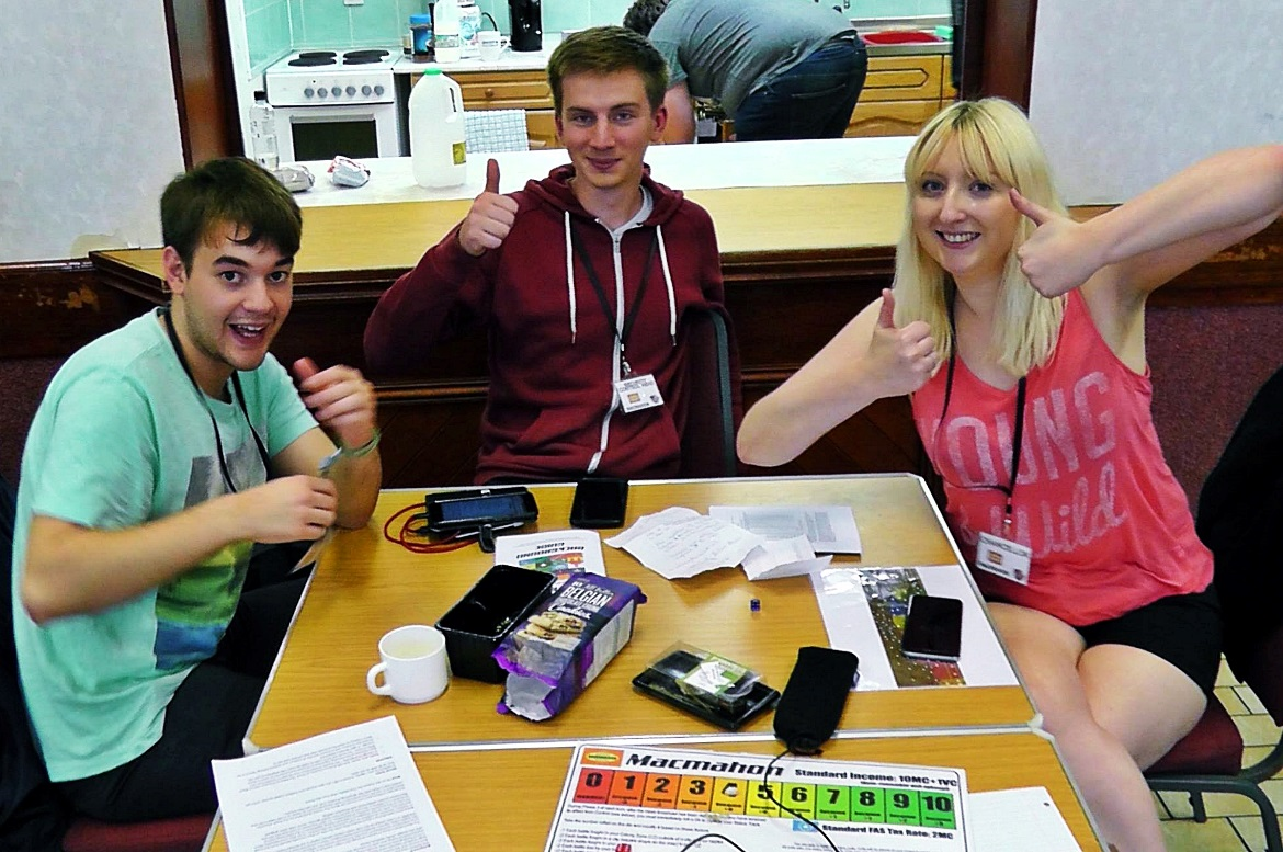 Team Macmahon at A World Divided Megagame - October Monthly Recap by BeckyBecky Blogs