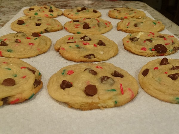 Christmas Cake Mix Cookies Beckys Baking Delights