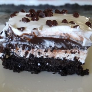 No Bake Chocolate Lasagna