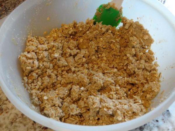 crust and crumble topping