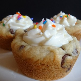 Chocoalte Chip Cookie Cups