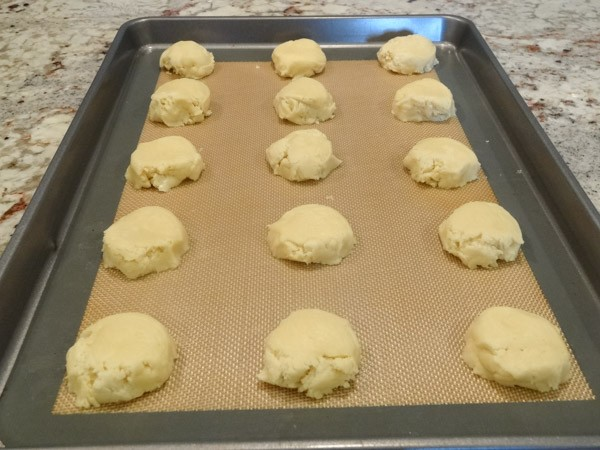 unbaked cream cheese cookies