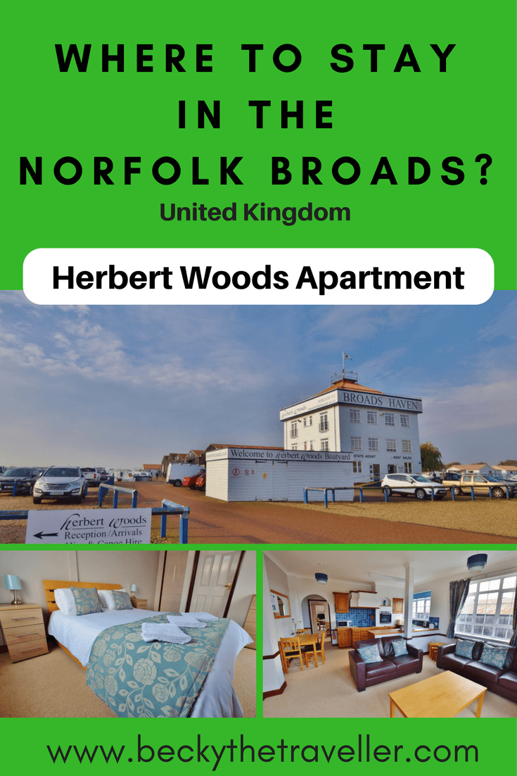 Where to stay in the Norfolk Broads - Herbert Woods Apartment. Looking for self catering accommodation in The Broads National Park. Read my full review on the Dragonfly apartment where I stayed. It's a beautiful place to base yourself from for exploring The Broads | Uk | United Kingdom | Places to stay Norfolk | Accommodation options